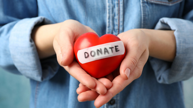 woman-holds-heart-on-blue-space-close-up-health-care-organ-donation